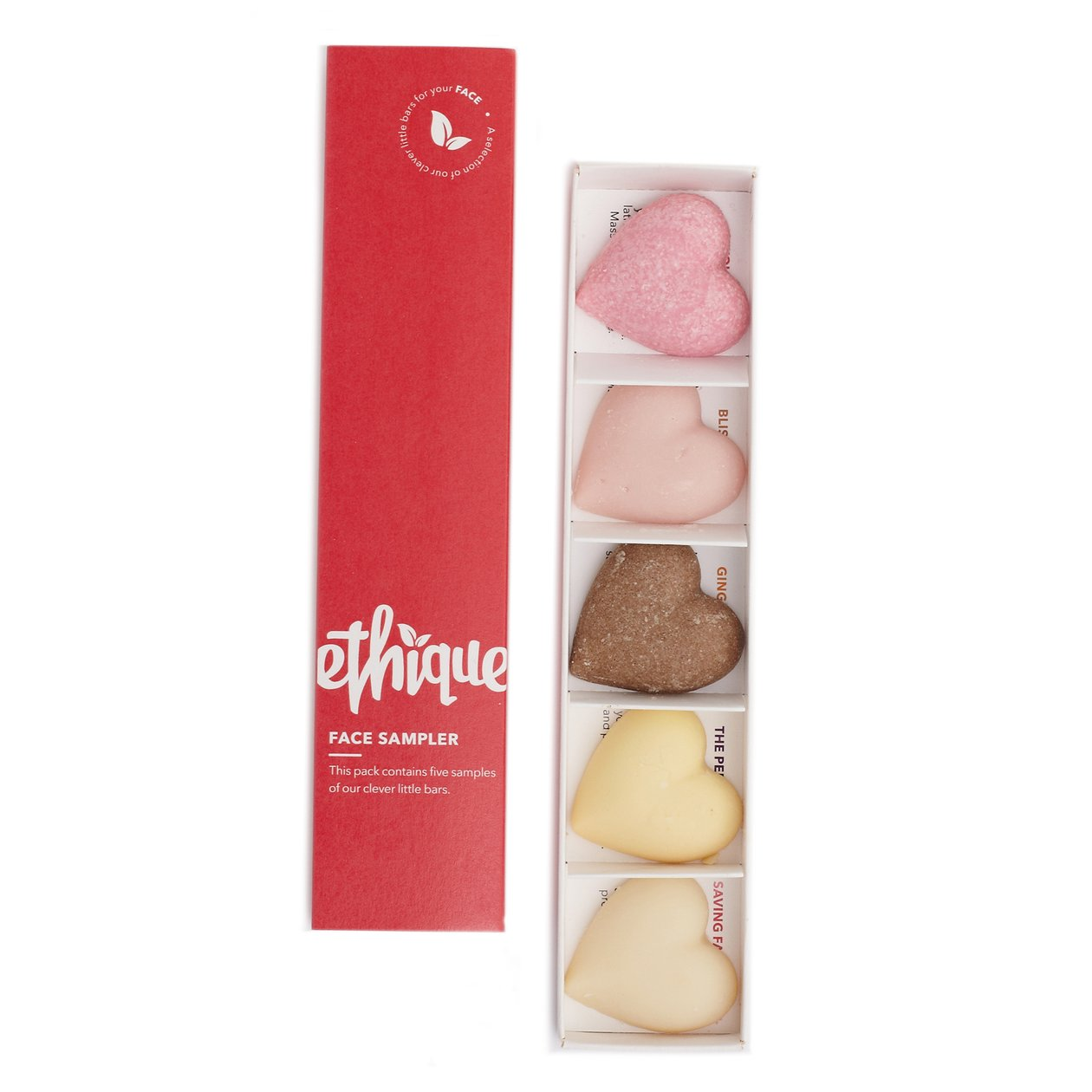 Ethique Face Sampler - A Collection of Face Product Bars