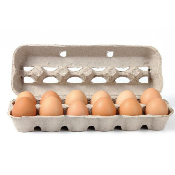 Organic Eggs 12 x 15/600g [ 15 each per Box ] $12.6 each