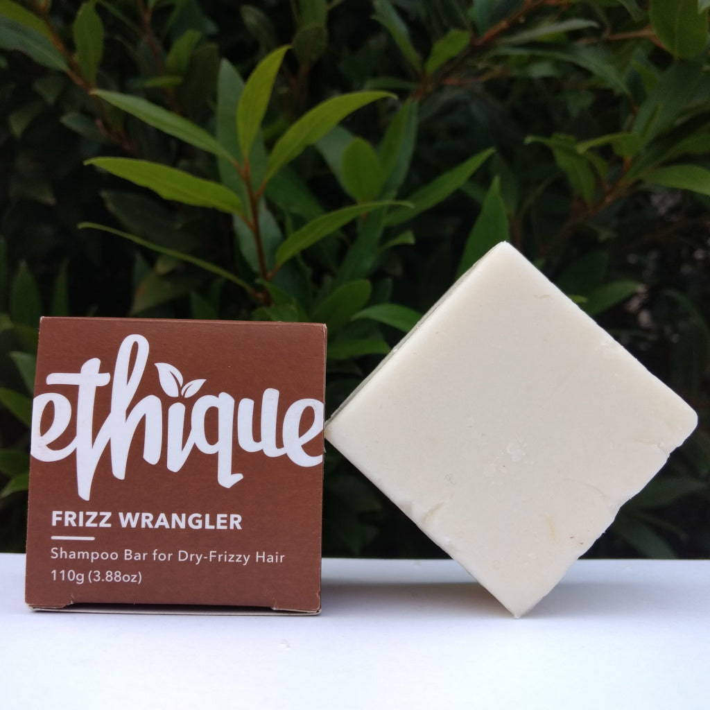 Ethique's Frizz Wrangler Shampoo Bar for Dry &/or Frizzy Hair