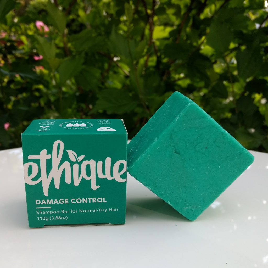 Ethique's Damage Control Shampoo bar for Normal-Dry Hair