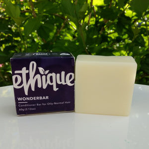 Ethique's Wonderbar Conditioner is a bar for Oily to Normal Hair