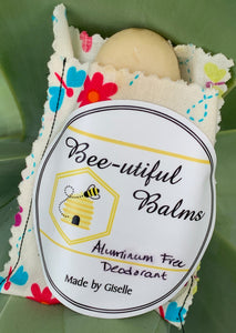 Deodorant Natural and Aluminium Free by Bee-utiful Balms