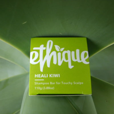 Heali Kiwi Shampoo Bar for Dandruff or Scalp Problems by Ethique