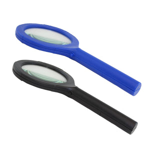21753 LA-MAGCLAM-12/48 LitezAll COB LED Lighted Magnifying Glass
