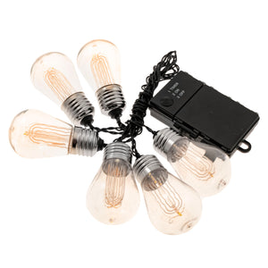 LitezAll LED Edison Bulb 6 Piece String Lights Decorating Suggestion-20