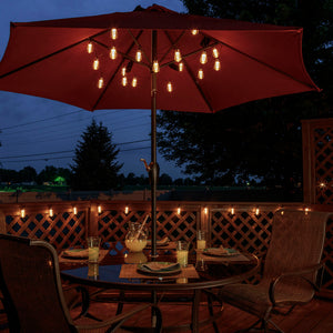 LitezAll LED Edison Bulb 6 Piece String Lights Decorating Suggestion-15