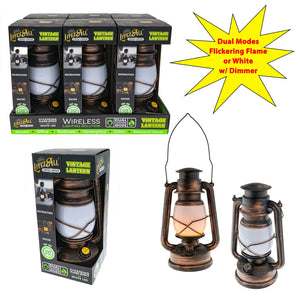 LitezAll Decorative Dual Mode Lantern with Dimmer