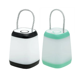 24259 - LA-SQUARE-6/24 LitezAll Mini Lantern with Rope Handle