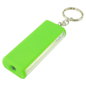 P-COBFKEY-16/64 Promier COB LED Keychain with Flashlight Battery Compartment