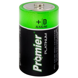 21890 - P-D2-4/14 Promier Products D Alkaline Battery 2 Pack