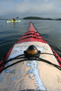 Kayak with Compass & Chart - [product_type - Kevin Bradshaw - Aqua Terre Artisans