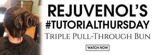 #TutorialThursday - Triple Pull-Through Bun