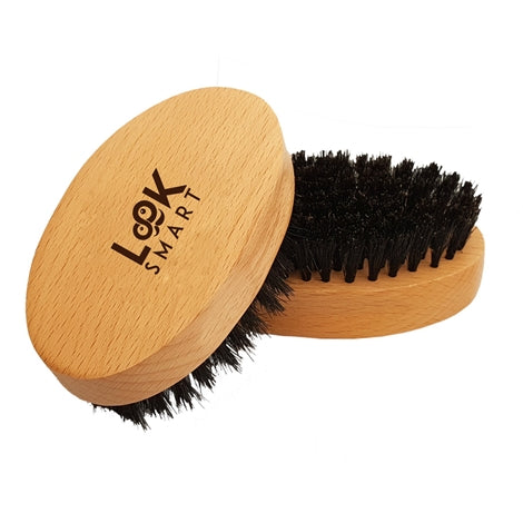 Look Smart - Beard Brush & Comb Presented in Quality Bag & Perfect Gift Box