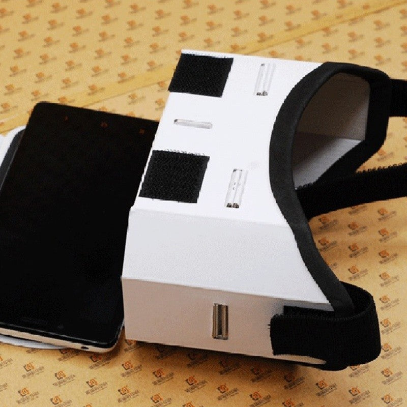 Buy Cheap Light Castle Google Cardboard Style Virtual Reality Vr Box Ii Glasses For 3.5-6.0 Inch Smartphone Glass For Iphone For Samsung Consumer Electronics
