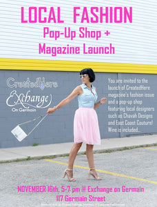 Local Fashion Pop Up & Magazine Launch