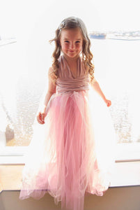 Flower girl : convertible dress + tutu