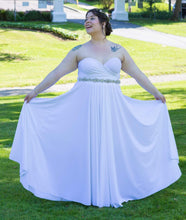 White Convertible Dress/Custom size & Length/Maternity & Plus size included