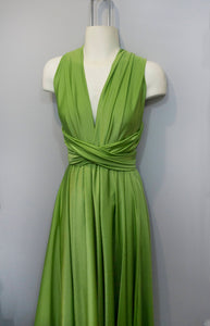 Moss green Convertible Dress/Custom size, length/Maternity & Plus size included