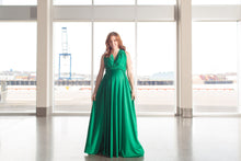 Kelly Green Convertible Dress