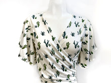 Can't Touch This : Cactus Wrap Top