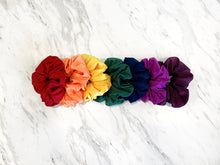 Rainbow Scrunchy Set