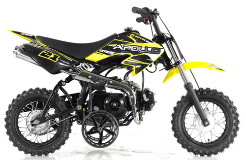 Apollo DB21 70cc Semi-Automatic Dirt Bike - Family Powersport