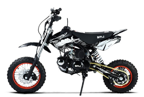 BMS Pro 110 Dirt Bike 110cc (Black) - Family Powersport