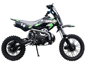 TAO DB14 MAX Youth Dirtbike 110cc - Family Powersport