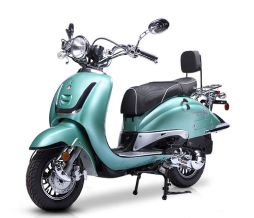 BEST SELLER 2020 Vintage150 1 Tone Scooter 150cc Heritage - Family Powersport