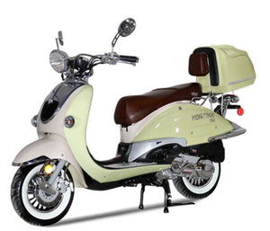 BEST SELLER 2020 Vintage150 2 Tone Scooter 150cc Heritage - Family Powersport