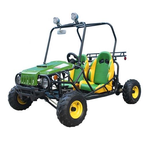 Jeep Auto T125 Deluxe 2 Seat Go Kart (Youth) - Family Powersport