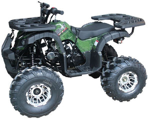 Vitacci Jet 10 Deluxe 125cc ATV (With Reverse & Chrome Wheels) - Family Powersport