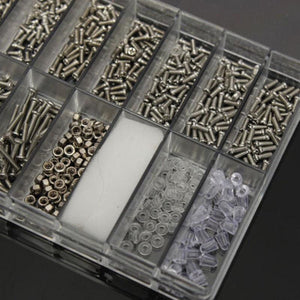 **SALE** 1000pcs Set Kit For Micro Glasses Sunglass Watch Spectacles Phone Tablet Screws Nuts Screwdriver Repair Tool
