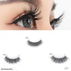 *** NO GLUE *** 3D Mink Reusable Self-adhesive False Eyelashes
