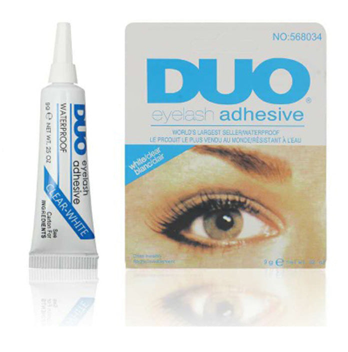 DUO Eyelashes Adhesive White/Clear