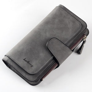 (DARK GREY) Women Big Capacity Wallet