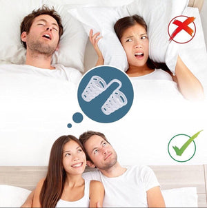 *** SPECIAL *** 2PCS X Anti-Snoring Breathe Easy Sleep Nose Clip