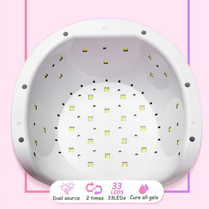 **DEAL** 72W UV LED Nail Lamp For Manicure Nail Dryer For All Gels