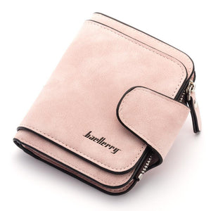 (BLACK) Designer Women's Short Wallet