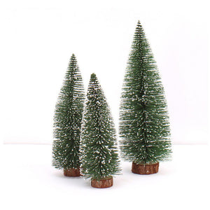 2 x Great New Year's Mini Christmas Tree !!!