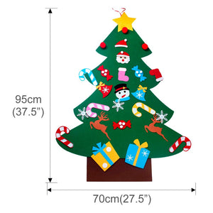 Felt Christmas Tree BUY 1 get 1 FREE! Decorations For Home, Kids DIY Christmas Tree Ornaments