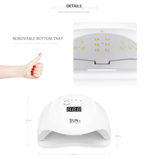 *** DEAL *** 54W UV LED Nail Lamp Dryer Professional Gel Polish Lamp