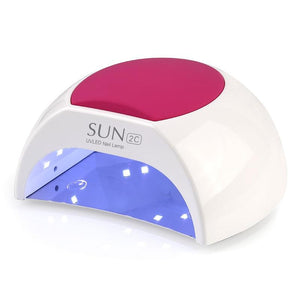 48W LED Lamp For Nail UV Lamp For Gel Nail Polish Sun Light Nail Dryer Manicure Art Tool 10s /30s /60s+90s Low Heat Mode