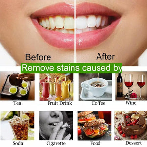 Teeth Whitening 30g Powder Smoke Coffee Tea Stain Remove Bamboo Activated Charcoal Powder Oral Hygiene Dental Tooth Care