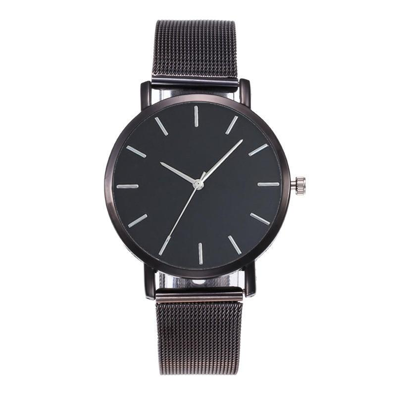 * DEAL * Women Wrist Watch Luxury Watch Women Bracelet (BLACK)