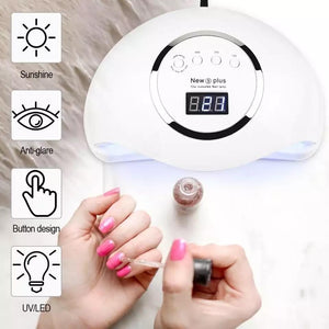 *** DEAL *** 72W UV LED Nail Lamp, Nail Dryer For All Gels, Infrared Sensing Timer