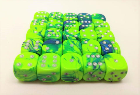12mm Toxic Dice Packs of 25