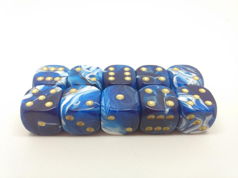 15mm Marble Dice. Packs of 10