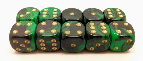 15mm Oblvion Dice. Packs of 10