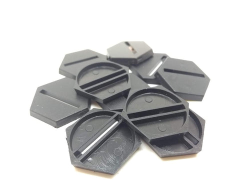 Hexagonal base with slot